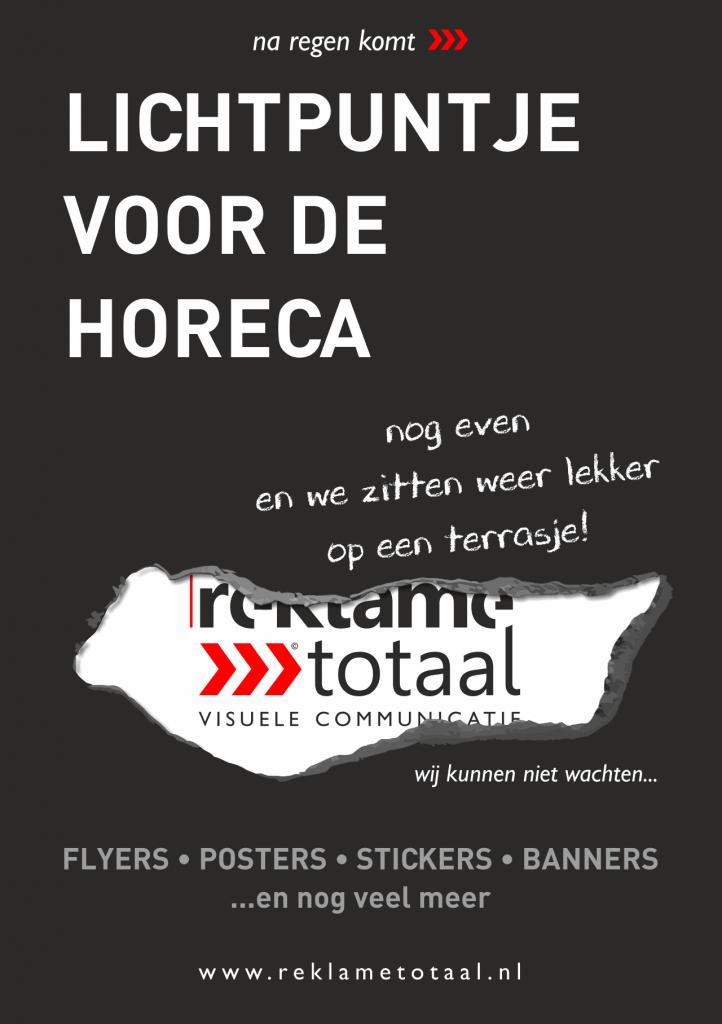 Reklametotaal | Leids Hart Leiden Horeca Flyers Posters Stickers Banners