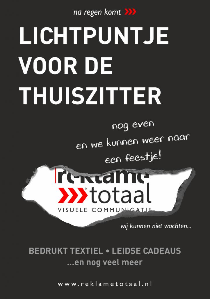 Reklametotaal | Leids Hart Leiden Particulier Kleding bedrukken Textiel Kado flyers posters visitekaartjers stickers banners